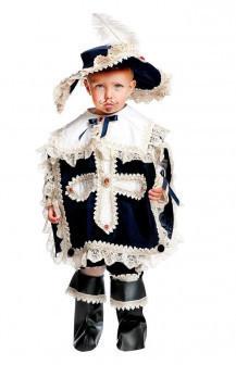 Карнавальный костюм Veneziano Мушкетер малыш детский, 1 год (80 см)