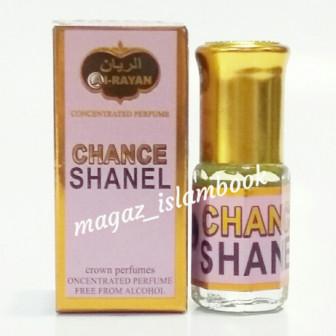 Духи на масляной основе Chanel Chance 3мл Al_rayan