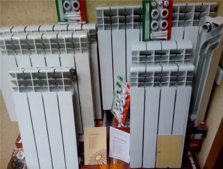 Радиаторы (панельные, биметалл, алюминий) 350, 500