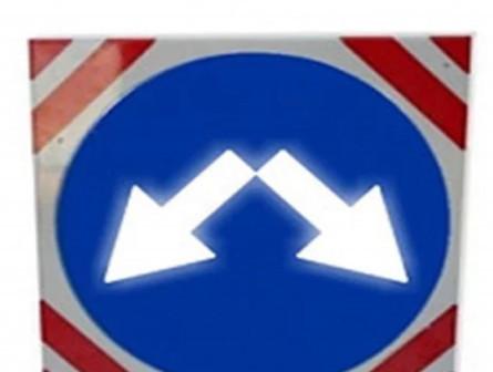 Светодиодный квадратный знак III тип размера