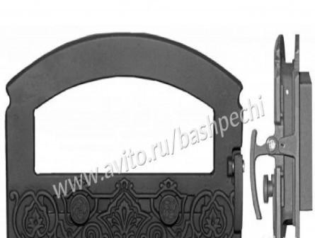 Дверка каминная дкг-5С Зной с термостеклом