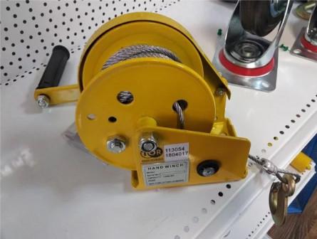 Лебедка ручная барабанная г/п 0,5т 10м BHW
