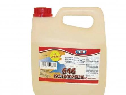 Растворитель Текс 646 Универсал, 10 л/8 кг