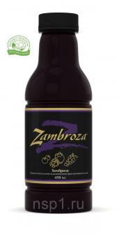 Замброза Zаmbroza NSP антиоксидантный напиток 443,6 мл