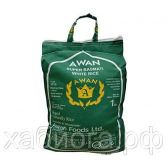 Рис супер басмати AWAN белый 2 кг