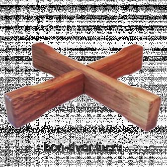 Подставка для жбана 10л (дубовая)