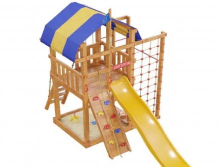Детская деревянная игровая площадка Спарта