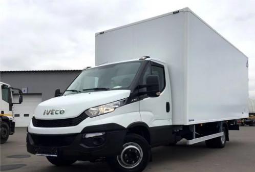 Промтоварный фургон на шасси iveco daily