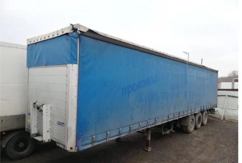Шторный полуприцеп Schmitz Cargobull 2008 г.в
