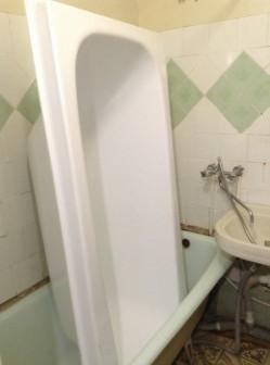 Акриловая ванна вставка