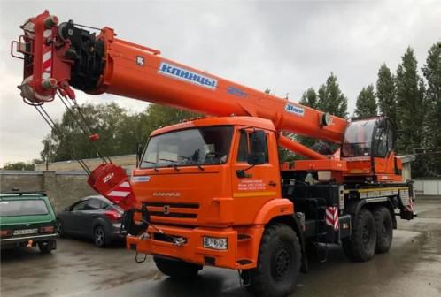 Автокран 25 тонн 31 метр кс-55713-5К-4 6х6