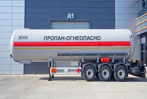 Газовоз полуприцеп 40-50 м3