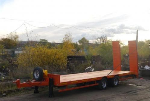 Прицеп для перевозки спецтехники до 19 тонн