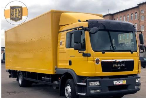 MAN TGM 12.250, фургон 46 кубов, без пробега по РФ