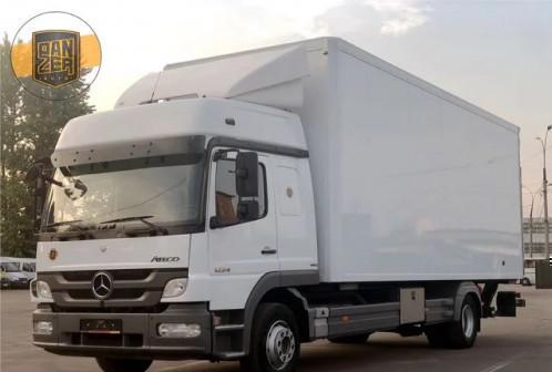 Мерседес Атего 1224, изотермический фургон 49 м3