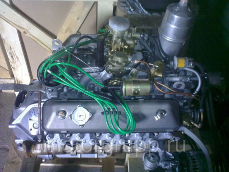 Двигатель 511 на ГАЗ 3307,ГАЗ 53 под 4 ст КПП, Аи 92