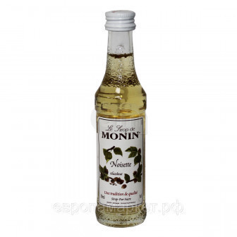 Сироп Лесной орех Monin, стекло 0,05л