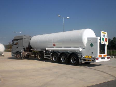 Цистерна газовоз криогенная (Азот/Кислород/Аргон)