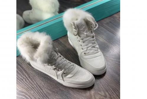 Кроссовки на меху Gucci