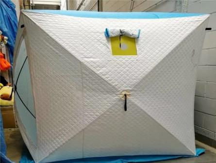 Зимняя палатка Куб 2 утепленная артикул 002