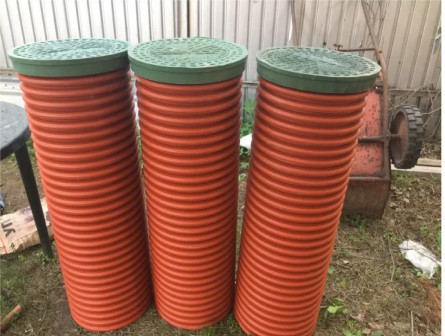 Колодец канализационный пластик
