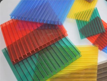 Поликарбонат сотов цветной 4мм