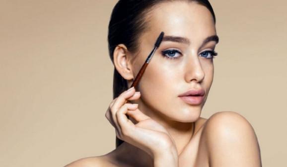 Частичный макияж
