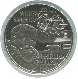 10 евро 1996 Виллем Баренц, Нидерланды