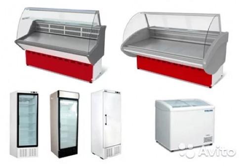 Продажа и аренда витрин холодильных, шкафов, ларей