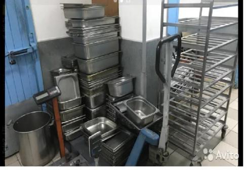 Лотки,посуда,тележки, термоса, весы и т.д. для сто