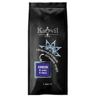 Кофе зерновой Kavil ESPRESSO 60/40