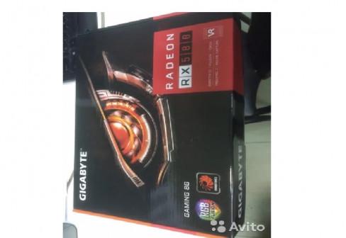 Видеокарта gigabyte rx 580 8 Gb