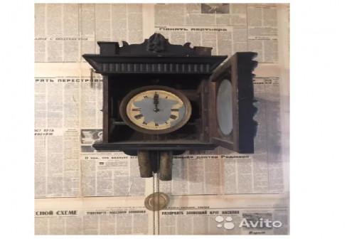 Часы с боем и гирями