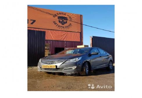 Запчасти для Hyundai Solaris