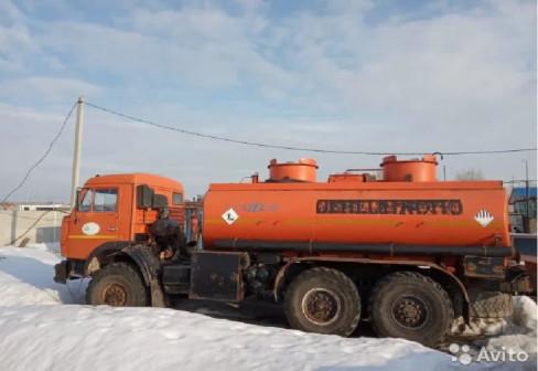 Автоцистерна Нефаз-66062-10(перевозка тех.воды)