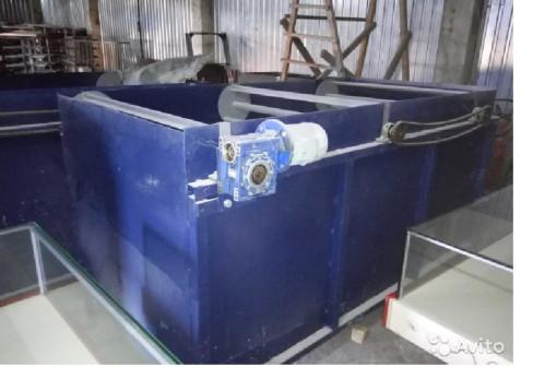 Ванна флотации для мойки полимерных отходов V3.6м3