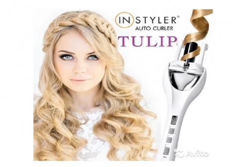 Плойка для волос Instyler Tulip / Стайлер