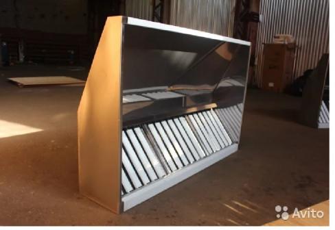 Вытяжной зонт нержавейка(aisi430-аргон),Вентиляция
