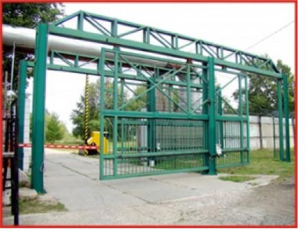 Изготовление и монтаж металлоконструкций, малых архитектурных форм, заборов и ворот