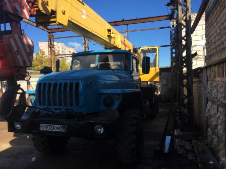 Аренда автокрана-25 тонн
