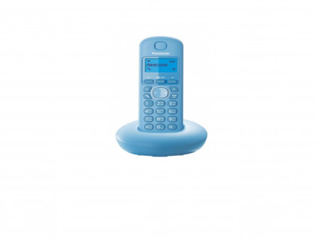 Телефон беспроводной Panasonic KX-TGB210RUF (голубой)