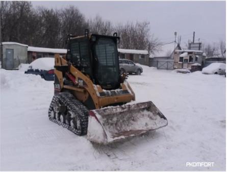 Аренда мини-погрузчика Caterpillar 247B
