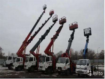 Аренда автовышки от 18 до 45 метров