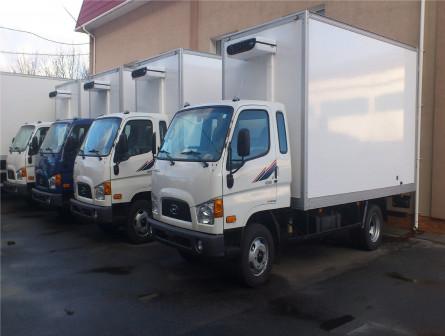 HD-78 c изотермическим фургоном 6,2*2,3*2,4 с холодильником
