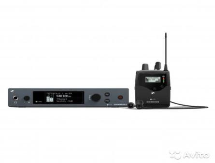 Sennheiser EW IEM G4 in-ear мониторинг