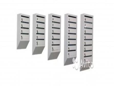 Почтовые ящики многосекционные