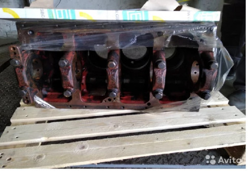 Блок цилиндров двигателя Д245 б/у