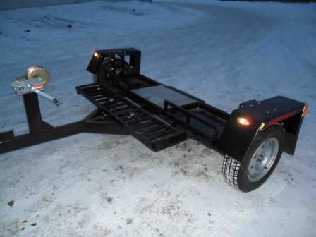 Прицеп подкат для транспортировки автомобиля