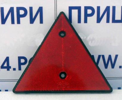 Катафот треугольный красный