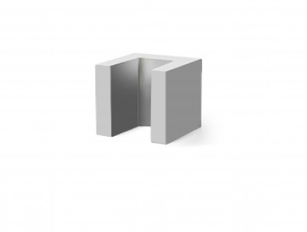 U-образный блок 250*250*250